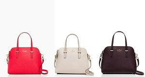 kate-spade-new-york-Cedar-Street-Maise-Crossbody-Satchel-3-Colors-NWT-298