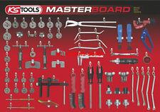 KS Tools Werkzeugwand Werkzeughalter Werkzeugtafel Bremsen-Service 800.1030-98