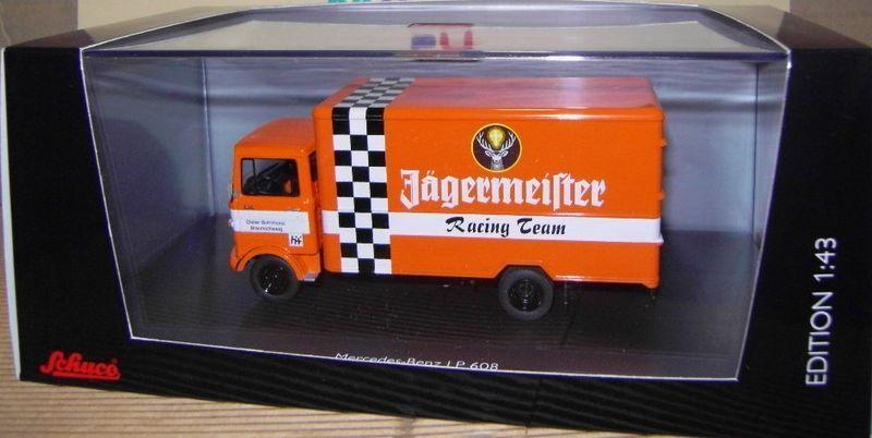 SCHUCO 03600 Camion Miniature MERCEDES LP 608  Voiture Miniature NEUF