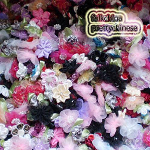 100pcs Assorted Floral Appliques Scrapbooking JM000