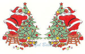 Ceramic-Decals-Santa-Decorating-Christmas-Tree-2-25-in