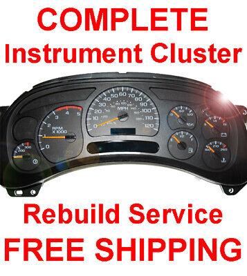 2006 GMC Sierra 1500 Speedometer Instrument Gauge Cluster IPC Repair Rebuild