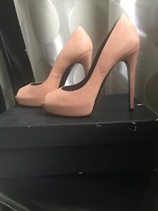 High Pumps Heels Zu Beige Bui 37 Barbara Details Stiletto Nude mvN80nwO