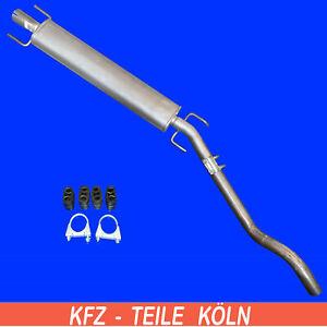 POLMO 17-65 Auspuff Mittelrohr Opel Astra H 1.3//1.7 CDTi Turbo Diesel