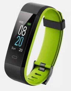 Yamay Fitness Tracker SW350 Grün Smartwatch Touch Wasserdicht IP68 iOS Android
