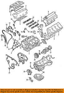 image is loading nissan-oem-valve-cover-gasket-132708j102