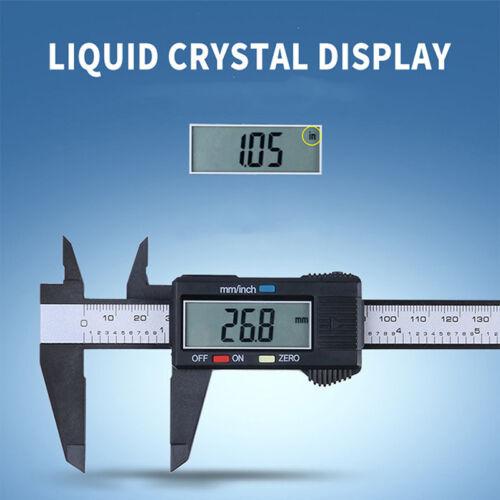 """LCD 6/"""" 150mm Digital Vernier Caliper Gauge Micrometer Measuring Electroni slap"""