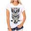 Moda-Mujeres-Mangas-Cortas-Camiseta-Camisas-Prendas-para-el-torso-Blusa-Informal-Camiseta-para-mujer miniatura 12