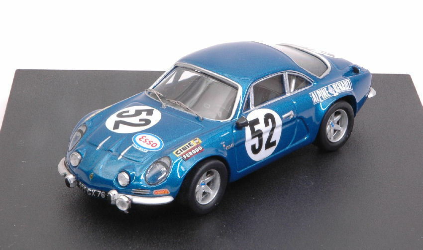 Alpine a110 -   52 nq - 1971 nusbaumer   bourdon 1 43 modell trofeu