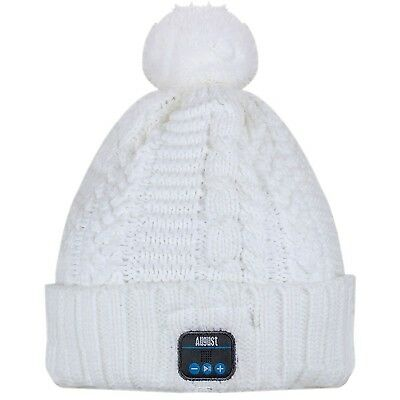 CON Inverno CAPPELLO STEREO EPA30 CUFFIE BEANIE August BLUETOOTH Bluetooth Berretto wZ6qwYt