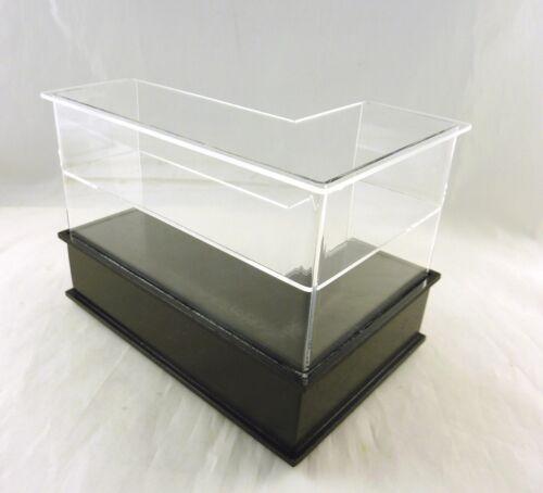 Dollhouse Miniature Corner Black Display Case Counter LEFT SC34