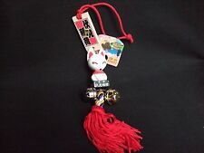 Kyoto Fushimi Inari  Messenger Fox Figurine with Strap Tarizman