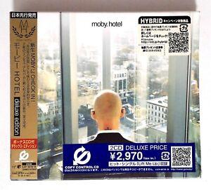 Moby-Hotel-VJCP-68739-JAPAN-CD-Album-Deluxe-Edition-OBI-SEALED