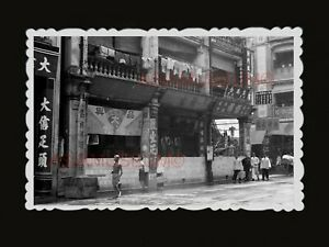 1940s-British-Colonial-Building-WW2-Japanese-Vintage-B-amp-W-Hong-Kong-Photo-1645