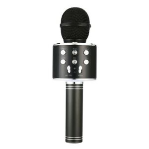 Portable-Wireless-Microphone-Bluetooth-Karaoke-Home-Mic-Stereo-Speaker-Play-X3S9