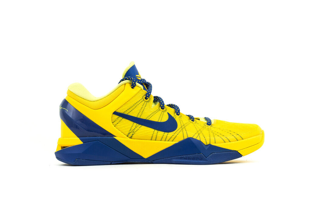 NIKE ZOOM KOBE VII (7)  TOUR YELLOW GAME ROYAL BARCELONA BARCA 488371-701 SZ 11