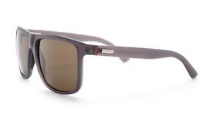 fc9c65cb5ec GUCCI Square Men Sunglasses GG 1075 N S Purple Grey Brown Lenses ...