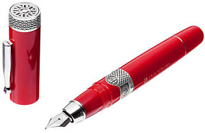 Delta Alfa Romeo Le Fountain Pen Medium Nib Brand New In Box