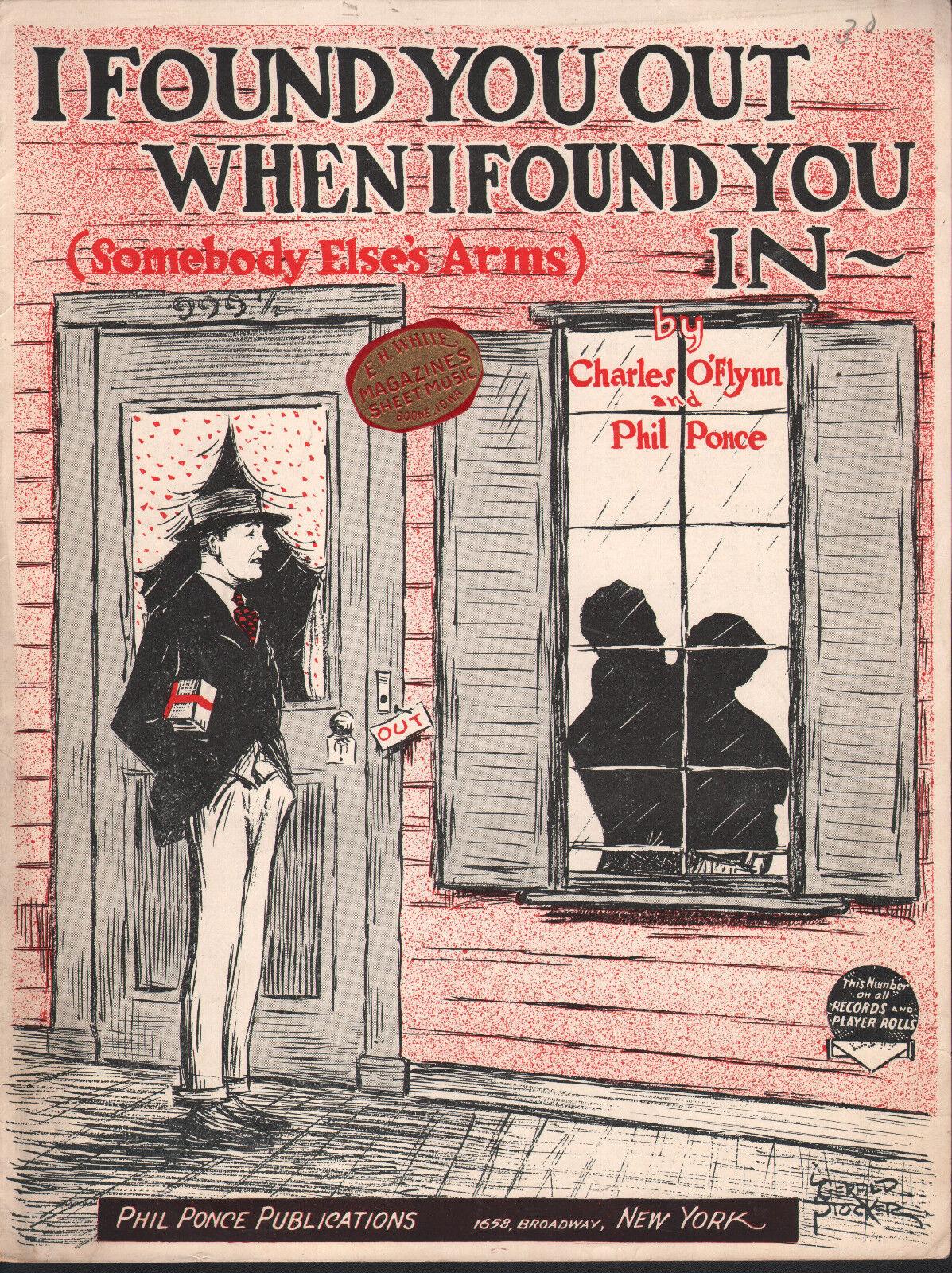 He He He encontrado que cuando te encontré en los brazos de alguien más () 1924 Partituras 73a1bc
