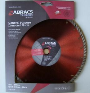 Abracs-ABDT30020M-300mm-Turbo-General-Construction-Diamond-Cutting-Blade