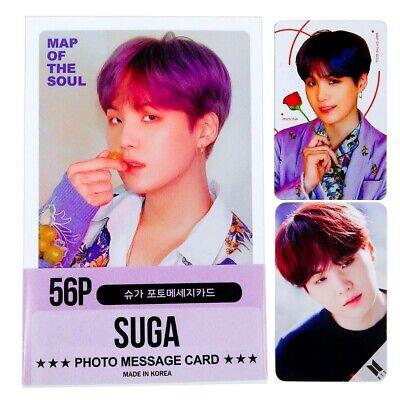 Fan Goods Suga Solo Photocards 56 Pcs