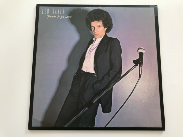 LP, Leo Sayer, Thunder In My Heart, Rock, Warner Bros.…
