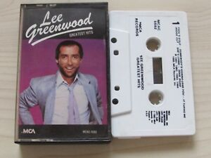 LEE-GREENWOOD-GREATEST-HITS-CASSETTE-1985-MCA-USA-TAPE-TESTED