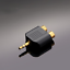 Premium 3.5mm Aux Stereo to 2 RCA Converter Adapter High Quality Gold Plated