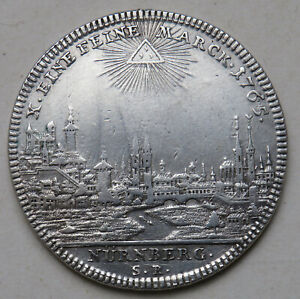 Nuernberg-Stadt-Taler-1765-Stadtansicht