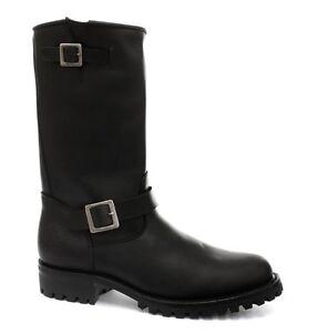 Boots Boot One Wild Uk Sizes Western Engineer Details Biker Zu Leather Mens All Grinders XPuikTOZ