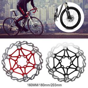 Bike-Disc-Brake-MTB-Bike-Cycling-Bicycle-Brake-Pad-160-180-203mm-Rotors-SG