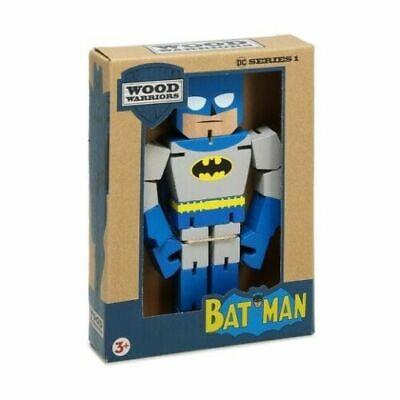 Dc Comics Wood Warriors Superheroes Batman Pose Em Fidgety