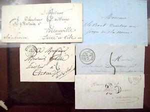1844-LOTTO-PREFILATELICHE-FRANCESI-St-DIZIER-GRAND-LUCE