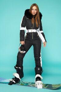 Women Winter Jumpsuit Waterproof Ski Snow Suit Outdoor Sport Overall One Piece В