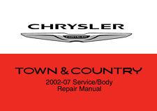 Chrysler Town & Country 2002 - 2007 Service Repair Workshop Factory Manual Disc