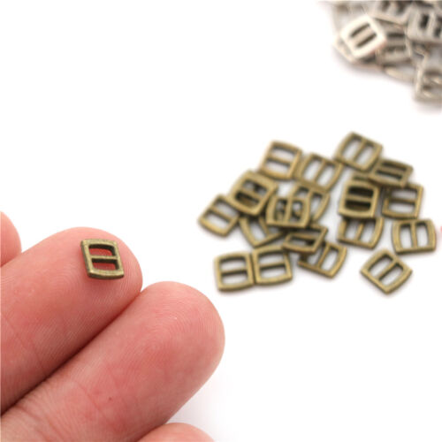 10X Mini Metal Buckle DIY Doll Dress Patchwork Handmade Craft Sewing Accessory.,