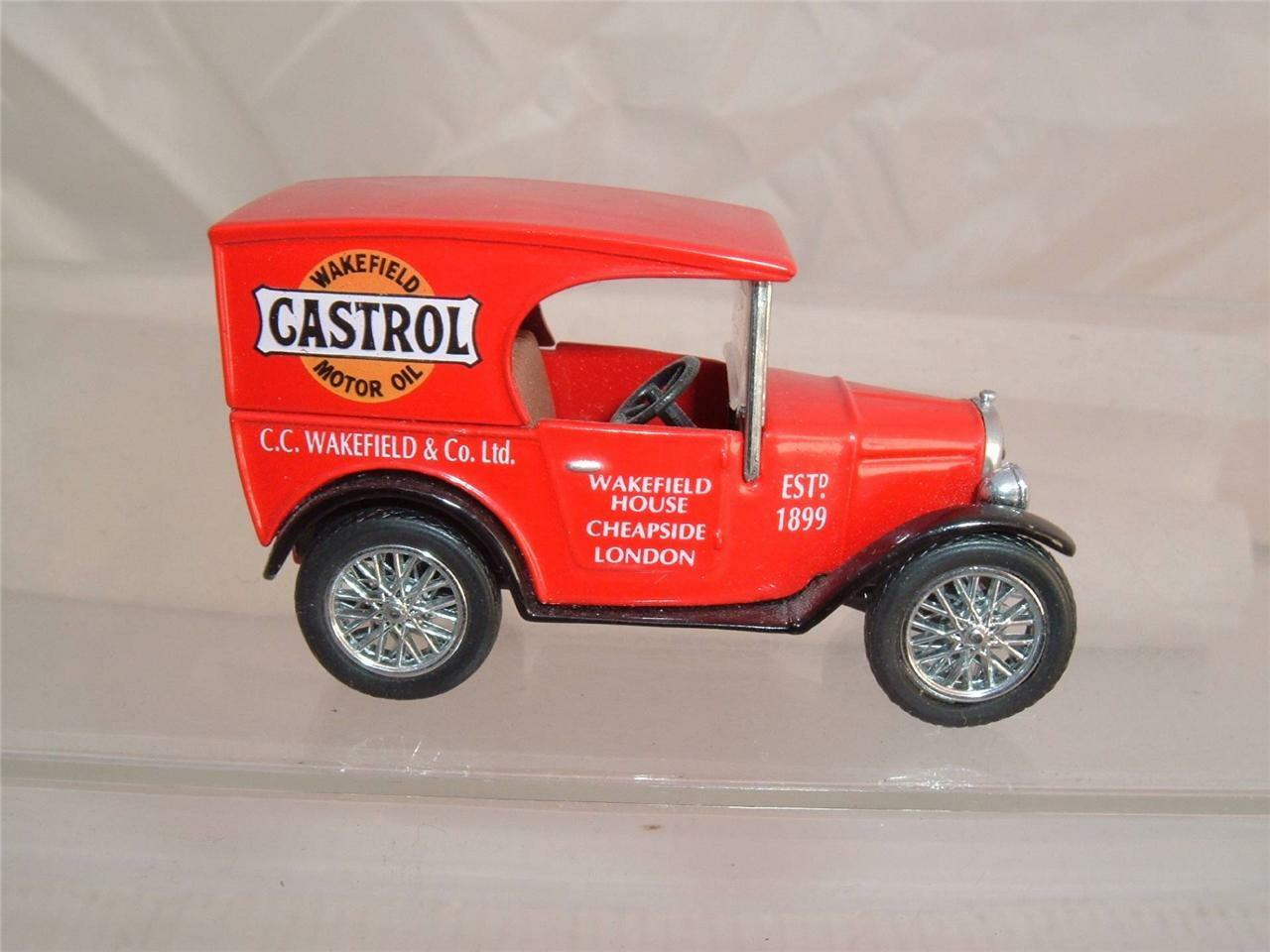 LIMITED EDITION AUSTIN SEVEN WAKEFIELD CASTROL MOTOR OIL CHEAPSIDE LONDON NO BOX