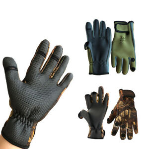 194919c59 Image is loading Non-slip-Winter-Fishing-Glove-Breathable-Windproof-Winter-