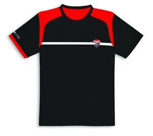 DUCATI-CORSE-POWER-T-Shirt-kurzarm-schwarz-NEU-2019