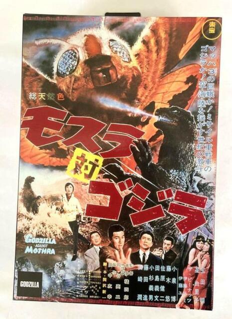 "1964 Godzilla Neca Godzilla vs en stock * Mothra 2019 Action Figure 12.5/"" htt"