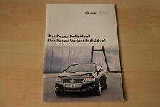 68419) VW Passat + Variant Individual Prospekt 02/2006