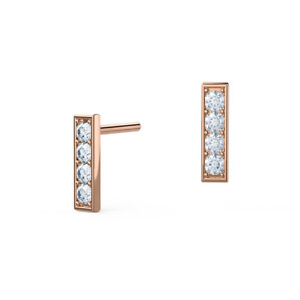 0-24-Ct-Round-Real-Certified-Diamond-Earrings-14K-Solid-Rose-Gold-Stud-Sale