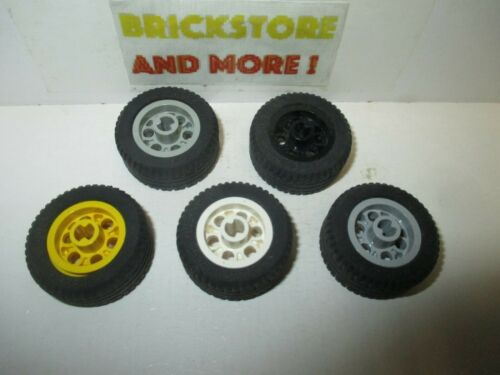 Lego 6578-2994c01 Choose Color /& Quantity Wheel 30.4 x 14 VR Tire 2994