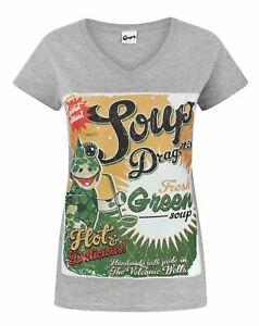 Clangers-Soup-Dragons-Green-Soup-Women-039-s-T-Shirt