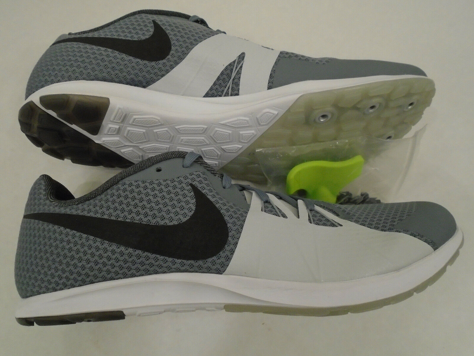 Special limited time New Nike Mens 13 Zoom Rival XC Racing Track Shoes Grey Black 904718-002 w/Tool