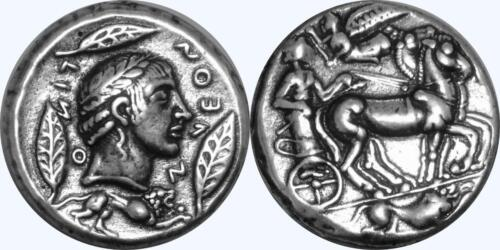 Apollo and Charioteer Greek Coin Percy Jackson Teen Gift PJ27-S Son of Zeus