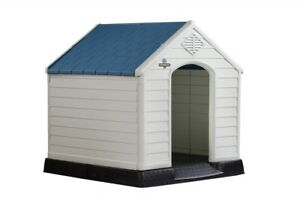 Confidence-Pet-Plastic-Dog-Kennel-Outdoor-House