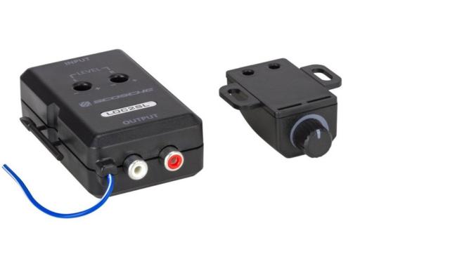 SCOSCHE LOC2SL Car Stereo 2Channel Adjustable Amplifier Add-On Adapter in Black