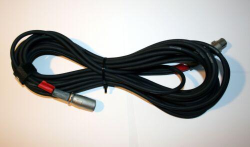 10 m Mikrofonkabel XLR-Verlängerung male//female symmetrisch 3-polig