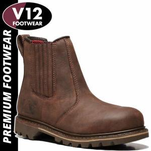 V12 Rawhide Safety Dealer Boot- Premium